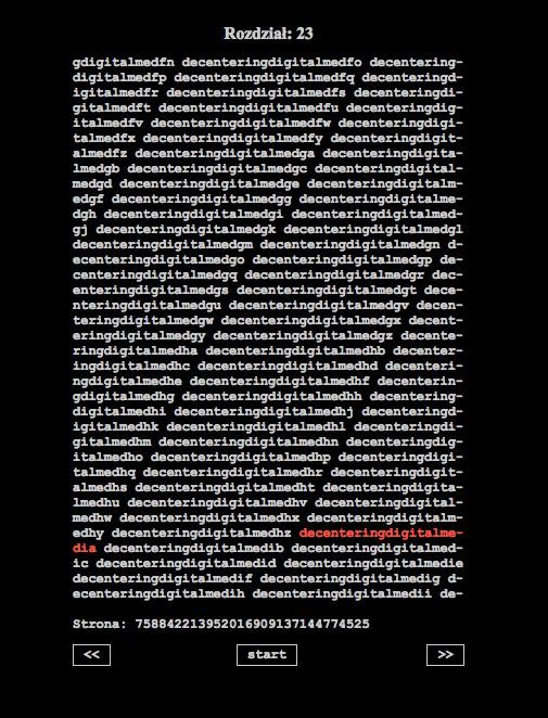 """Fragment """"Księgi słów wszystkich"""" autorstwa Józefa Żuka-Piwkowskiego"""