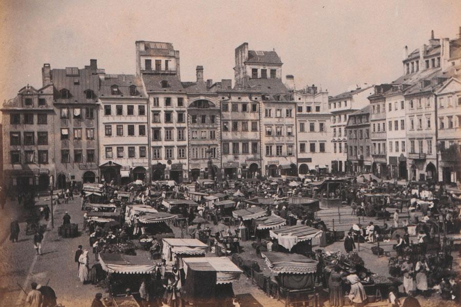 Warszawa, Rynek Starego Miasta, 1890-1899
