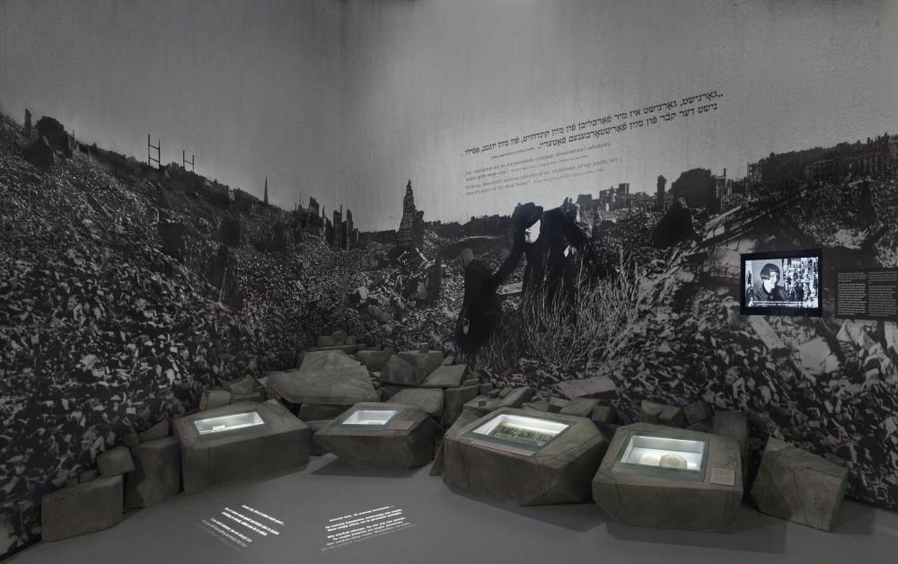 The ruins of Warsaw - part of the Post-War years gallery, photo: Magda Starowieyska