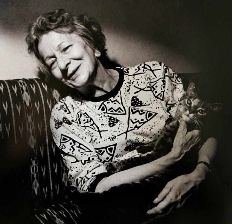 Wisława Szymborska, photo: Jerzy Dudek/ Fotorzepa/Forum
