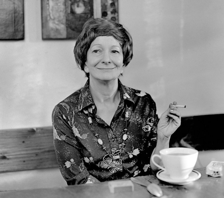 Wisława Szymborska, 1980, photo: Wojciech Plewiński / Forum