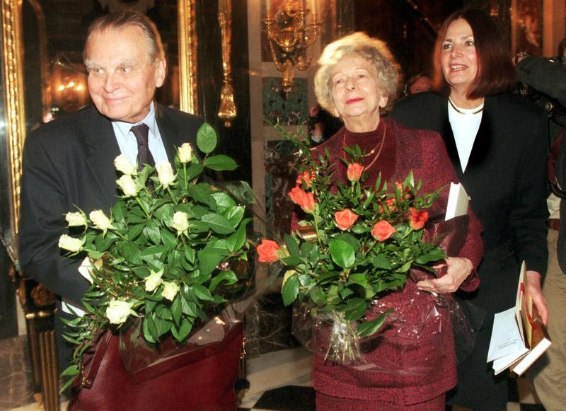 Чеслав Милош и Вислава Шимборская. Фото: Анджей Иванчук / Reporter