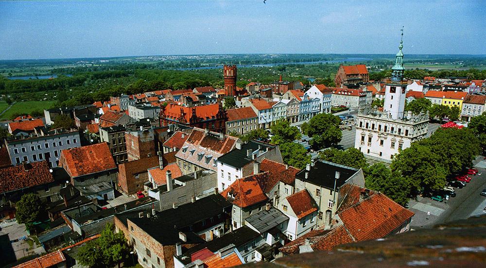 Widok na starówke w Chełmnie,  fot. Marzena Hmielewicz/AG