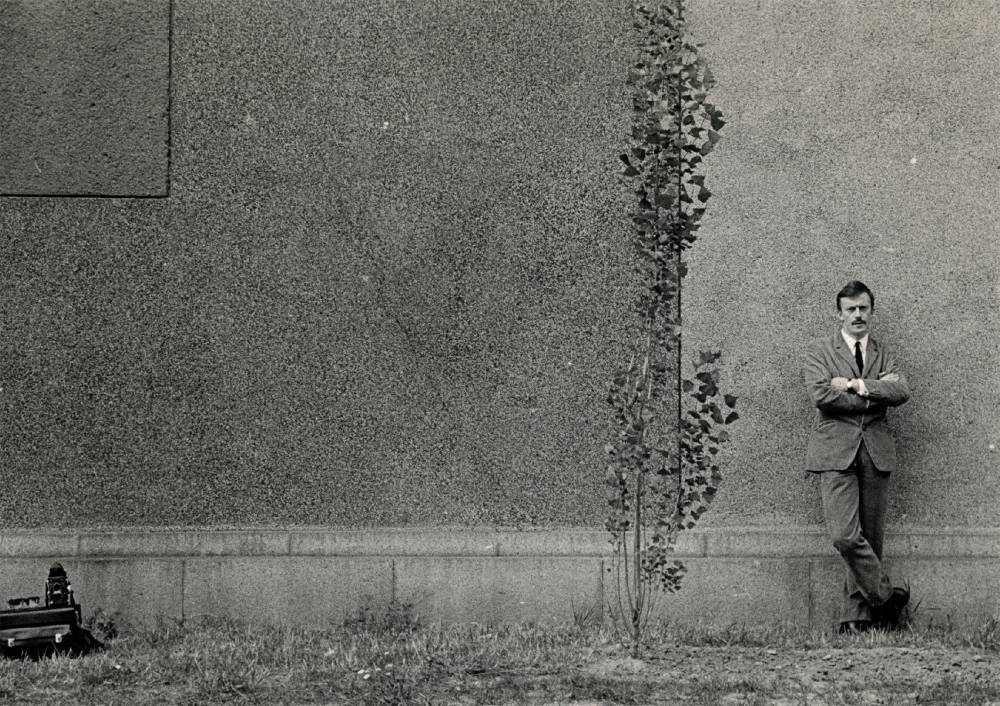 Marek Karewicz - autoportret (lata 70.)