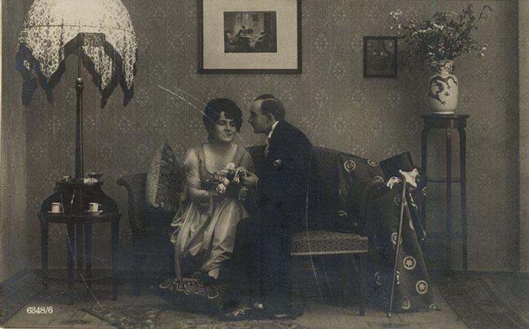 Pocztówka, 1920-1940, fot. Biblioteka Narodowa (Polona)