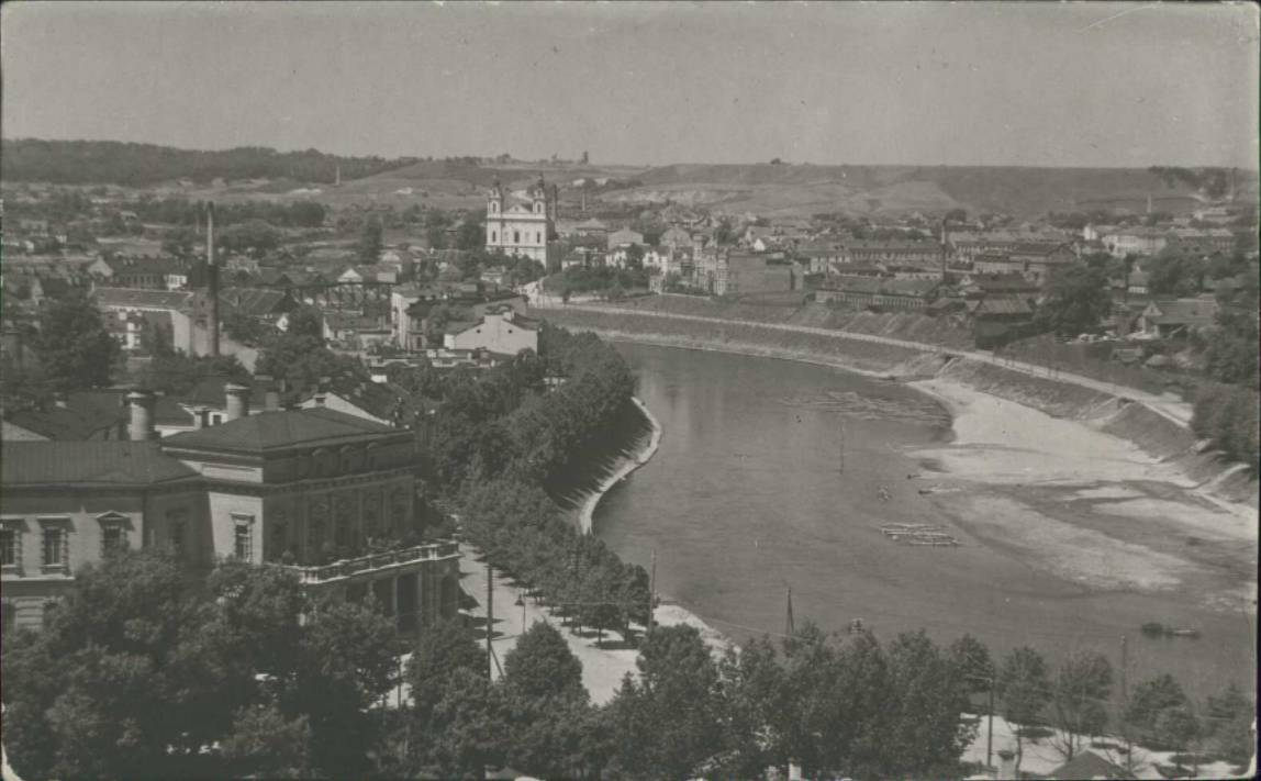 Wilno na pocztówce z lat 30. XX w. Źródło: Polona.pl