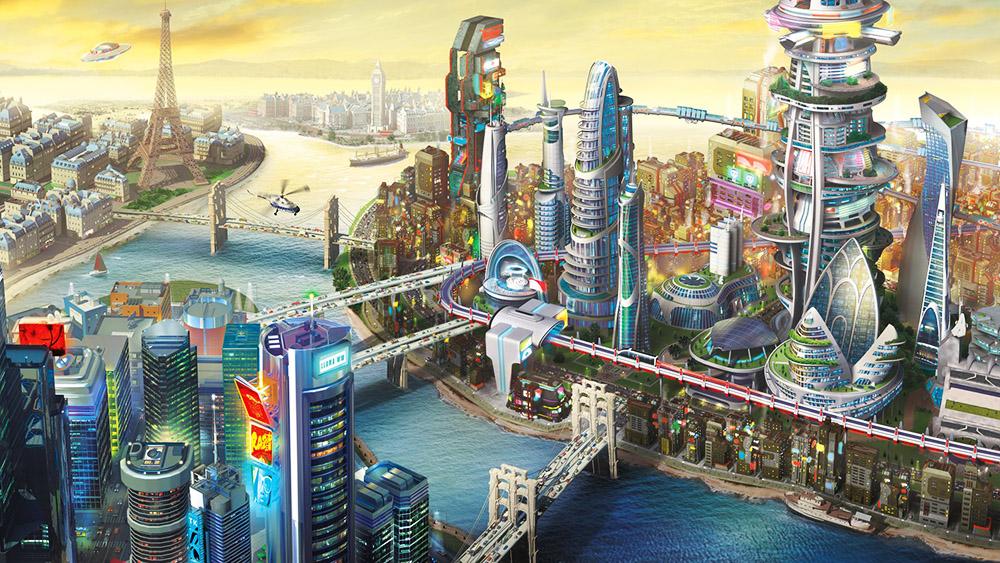 SimCity, игра авторов Sims, подготовленная студией Studio Maxis. Фото: www.simcity.com