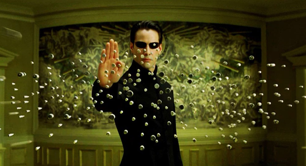 Still from The Matrix, 1999, directed by Lilly Wachowski & Lana Wachowski, photo: Warner Bros