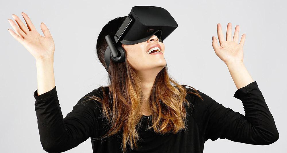 Oculus Rift, a popular VR device, photo: press materials