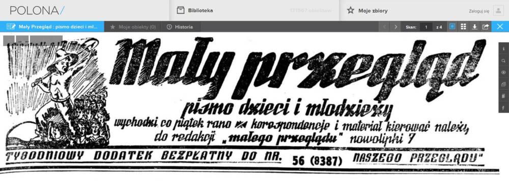 """""""Mały Przegląd"""" w bibliotece Polona.pl"""