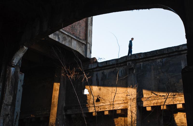 Będzin,Ruiny Cementowni Grodziec, fot. Maciej Jarzębinski / Forum