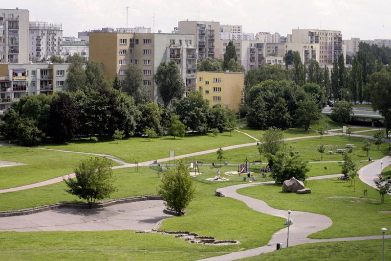 Warszawa, widok na Ursynów z Kopy Cwila, fot. Jakub Ostałowski/Fotorzepa/FORUM