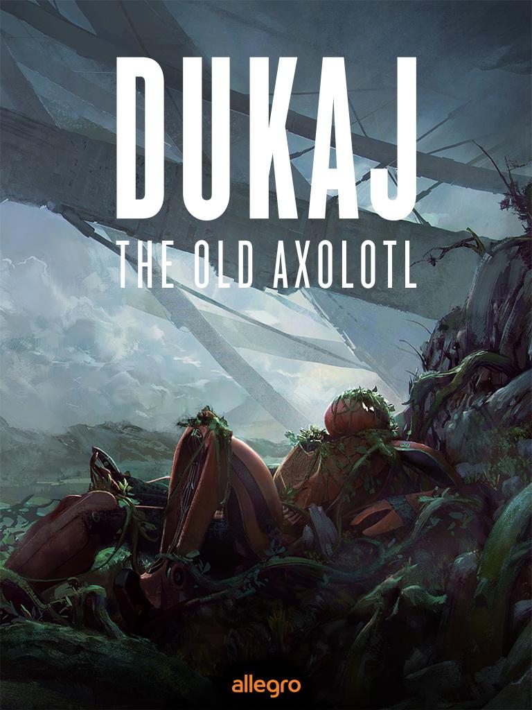 Jacek Dukaj, The Old Axolotl (cover)