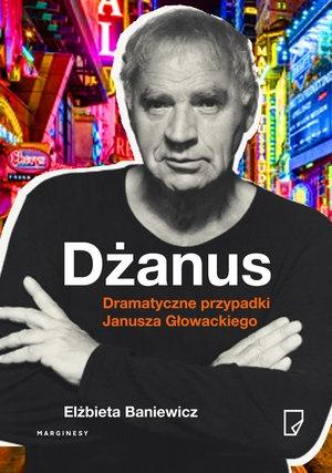"""Elżbieta Baniewicz, """"Dżanus"""" – okładka ksiązki"""
