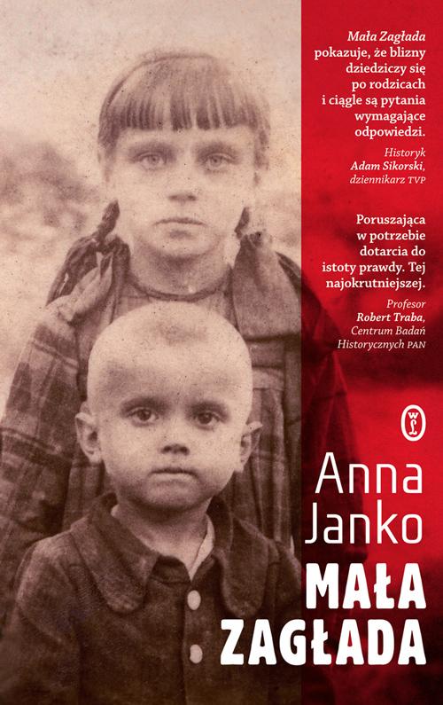 Mała zagłada, Anna Janko, Wydawnictwo Literackie, cover