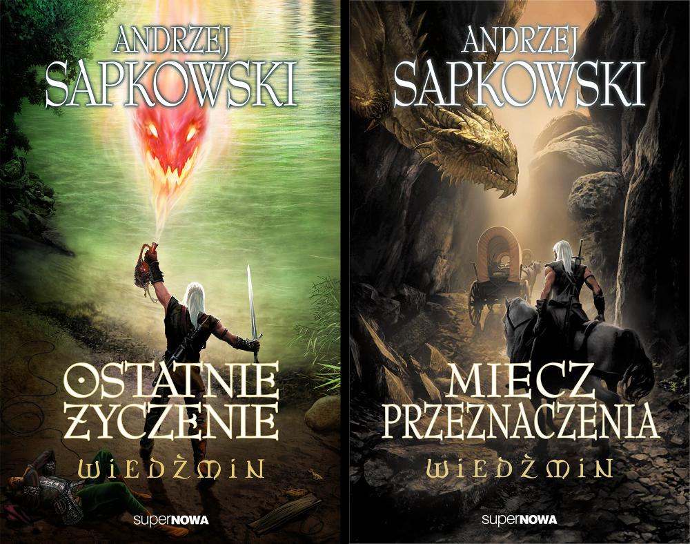 Okładki opowiadań o wiedźminie Andrzeja Sapkowskiego, fot. superNOWA
