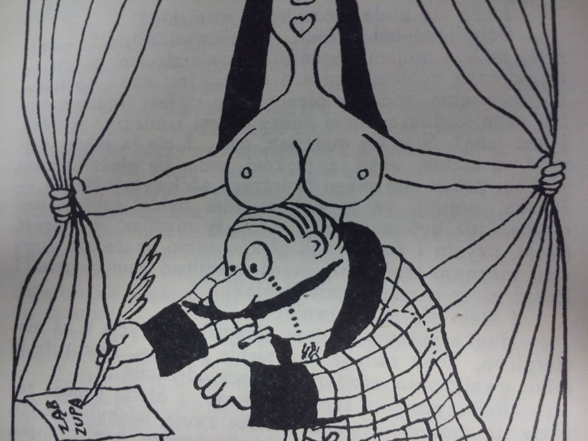 "Illustration to ""Kult ciała"""