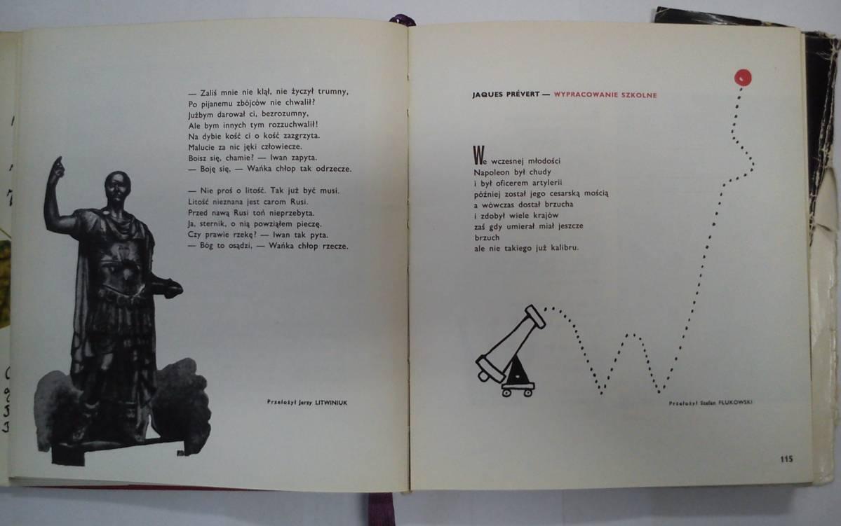 """""""Nastolatki nie lubią wierszy"""" - by Wiktor Woroszylski illustrated by Bohdan Butenko"""