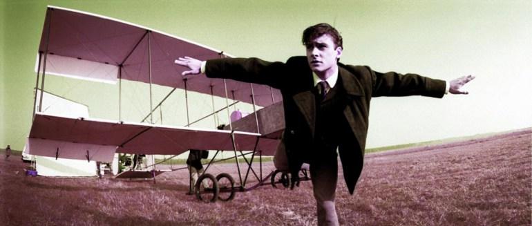 """Mateusz Damięcki na planie filmu """"Przedwiośnie"""", reżyseria: Filip Bajon, 2000, fot. Jacek Szymczak/Forum"""