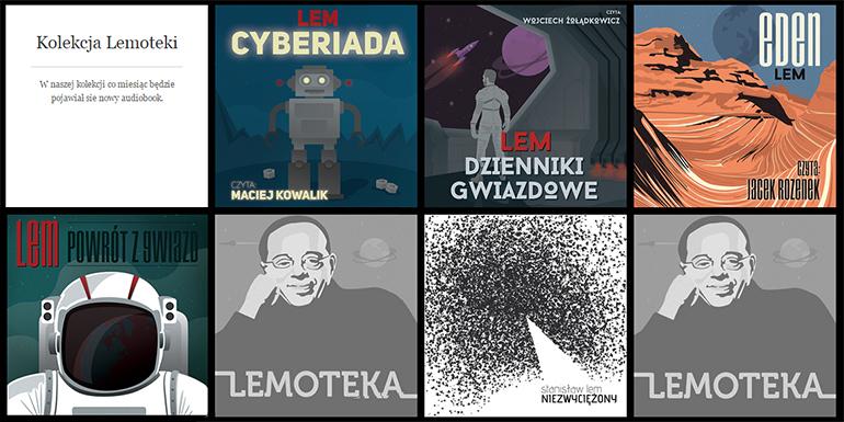 Lemoteka, widok główny, źródło: www.audioteka.pl/lemoteka