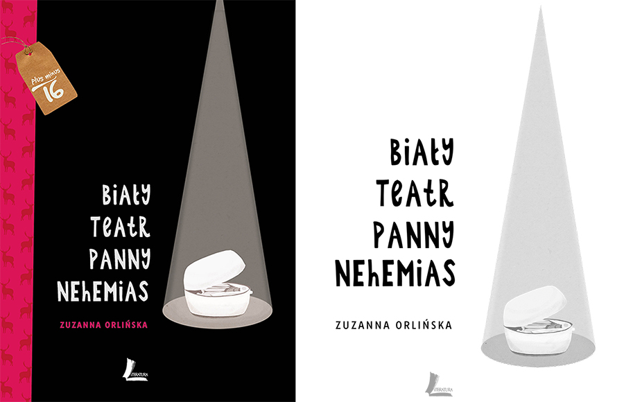 Zuzanna Orlińska, Biały Teatr Panny Nehemias (Miss Nehemiah's White Theatre), Literatura Publishers, photo: press materials