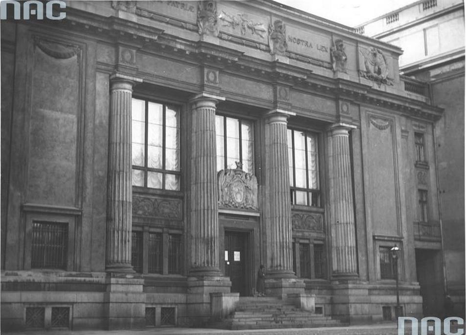 Biblioteka Ordynacji Krasińskich na ul. Okólnik 9 w Warszawie, 1933; fot. NAC