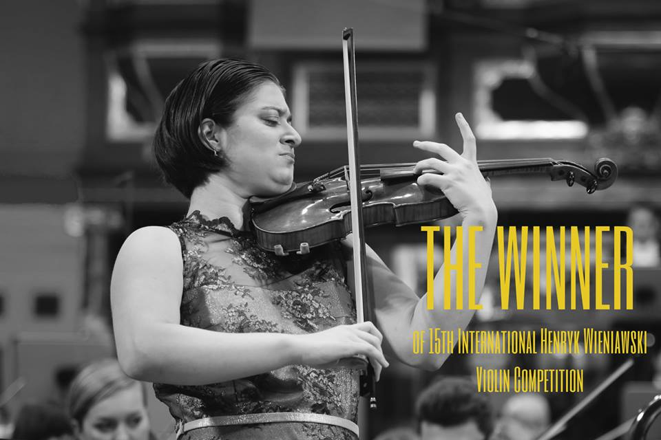 Veriko Tchumburidze, fot. International Henryk Wieniawski Violin Competition/Facebook.com