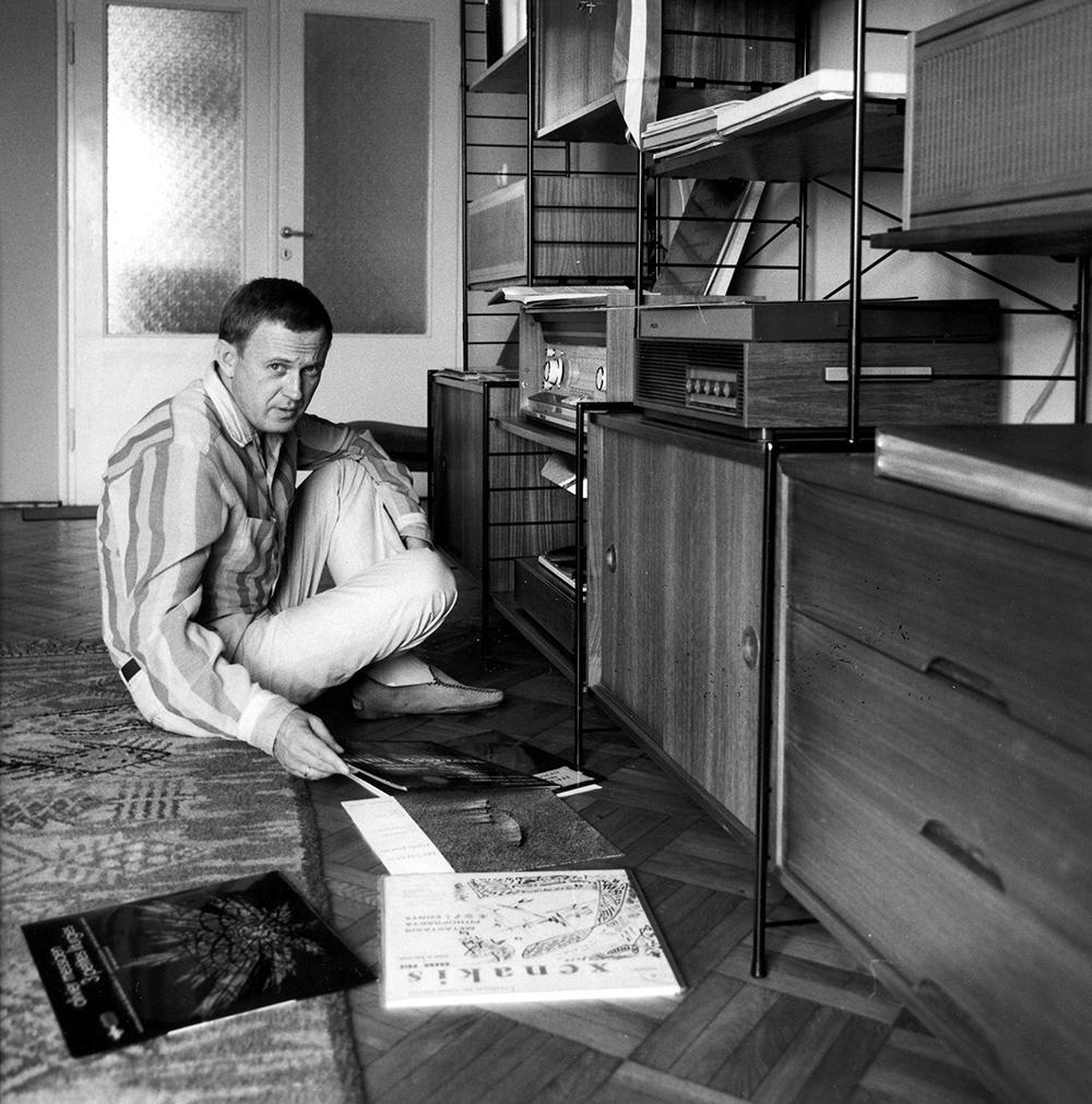 Augustyn Bloch, 1967, fot. Andrzej Zborski/Fotonova