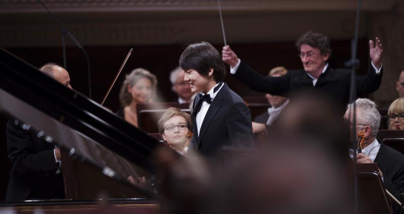 Seong-Jin Cho  at the 3rd stage of the Chopin Competition, 18th October 2015. Photo: Bartek Sadowski / NIFC