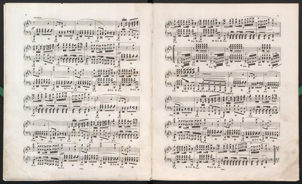 Fryderyk Chopin, Polonaises. Photo: Polona Polish Digital National Library / www.polona.pl