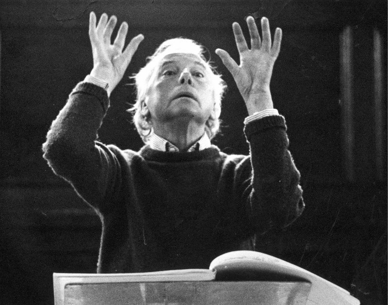 Andrzej Panufnik, 1987., fot. Camilla Jessel / Boosey & Hawkes Collection