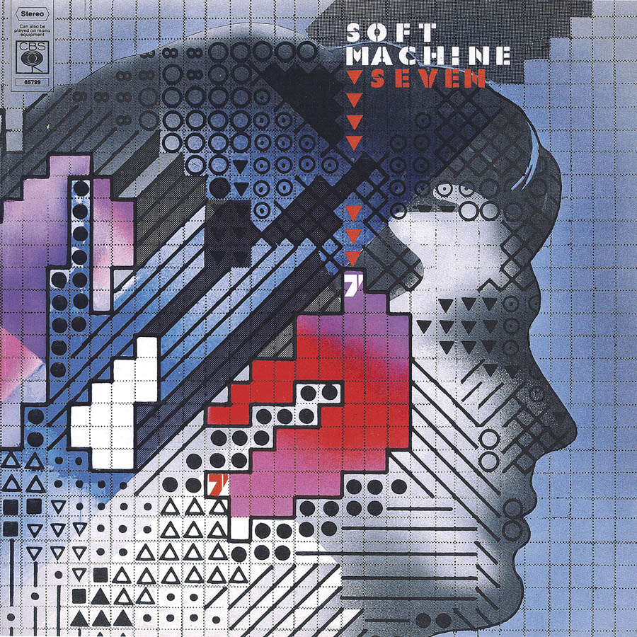 Soft Machine, Seven, cover art: Rosław Szaybo