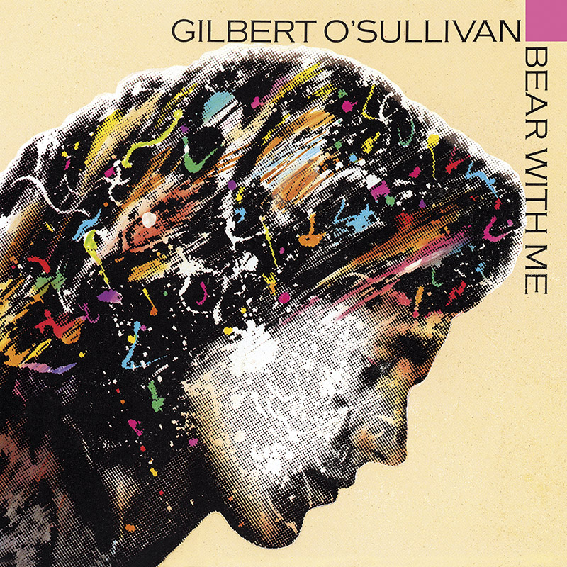 Gilbert O'Sullivan, Bear with Me, cover art: Rosław Szaybo