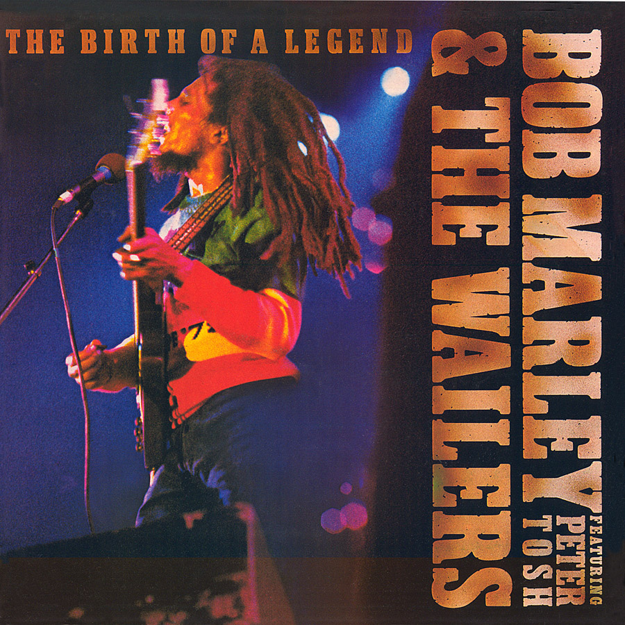 Bob Marley and The Wailers, Birth of the Legend, cover art: Rosław Szaybo