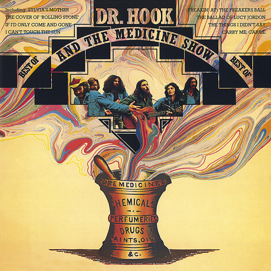 Dr. Hook and The Medicine Show, Best of, cover art: Rosław Szaybo