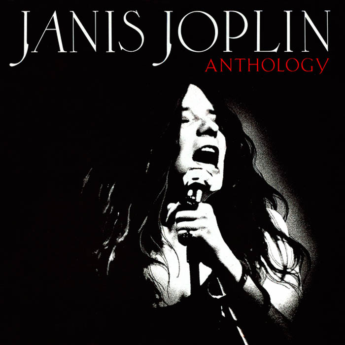 Janis Joplin, Anthology, cover art: Rosław Szaybo