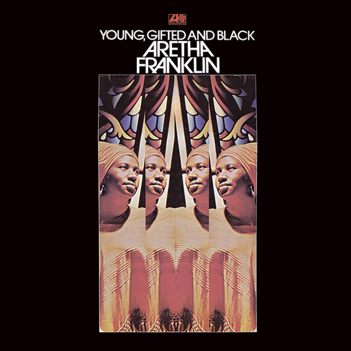 "Aretha Franklin, ""Young, Gifted and Black, okładka Stanisław Zagórski"
