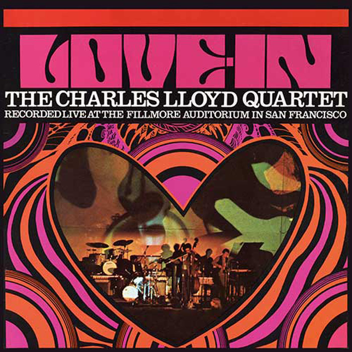 The Charles Lloyd Quartet, Love In, cover art: Stanisław Zagórski