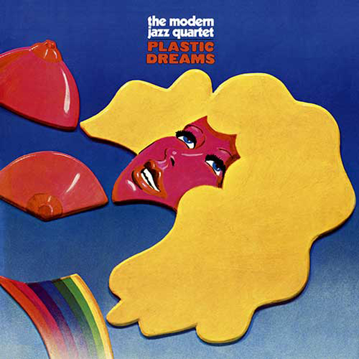 The Modern Jazz Quartet, Plastic Dreams, cover art: Stanisław Zagórski