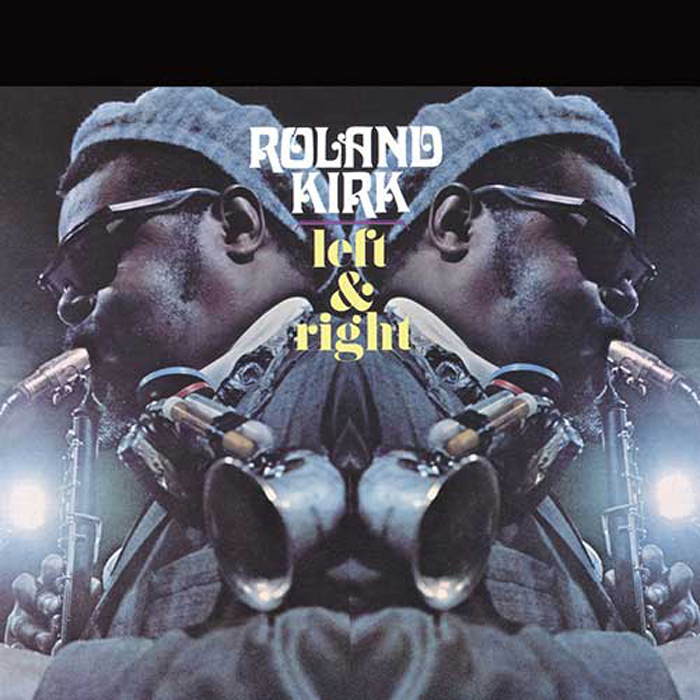 Rahsaan Roland Kirk, Left and Right, cover art: Stanisław Zagórski