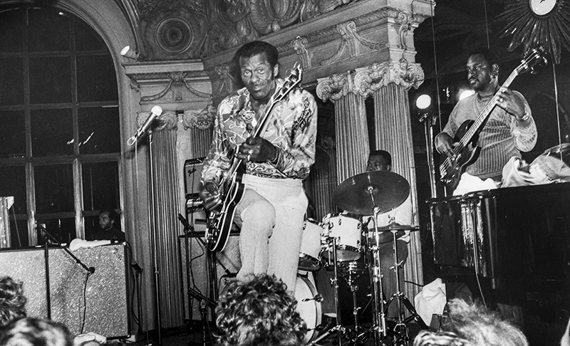 Chuck Berry performs at the Cafe Opera  in Stockholm, Sweden, photo: Peter Nordah / Forum