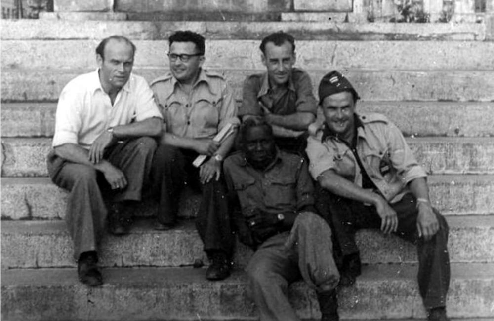 Augustus Agbola O'Brown w 1944, fot. archiwum prywatne / www.1944.pl