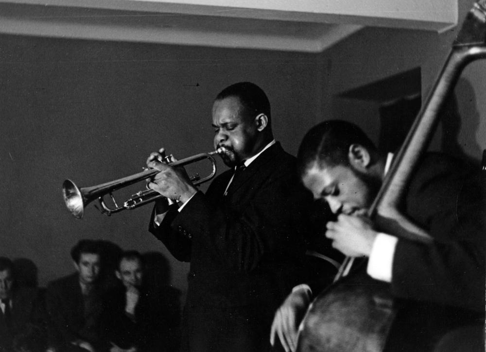 V Światowy Festiwal Młodzieży i Studentów. Koncert jazzowy, 1955, fot. Andrzej Marczak / Forum