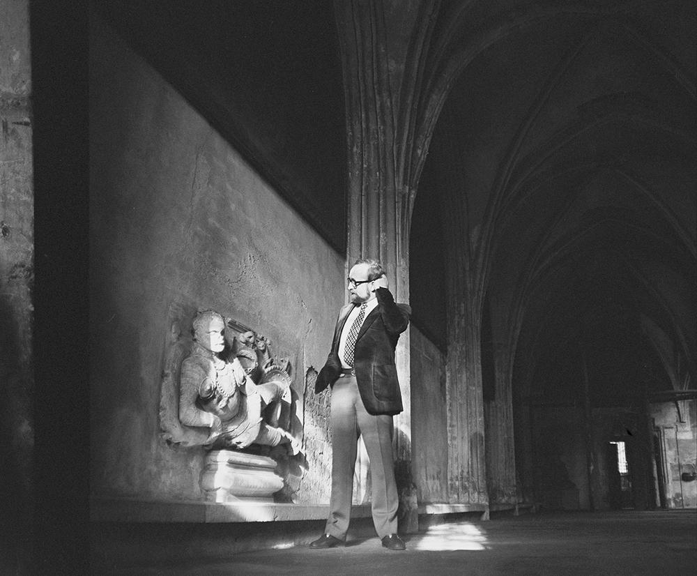 Krzysztof Penderecki in Dębica, 1969, photo: Wojciech Plewiński / Forum