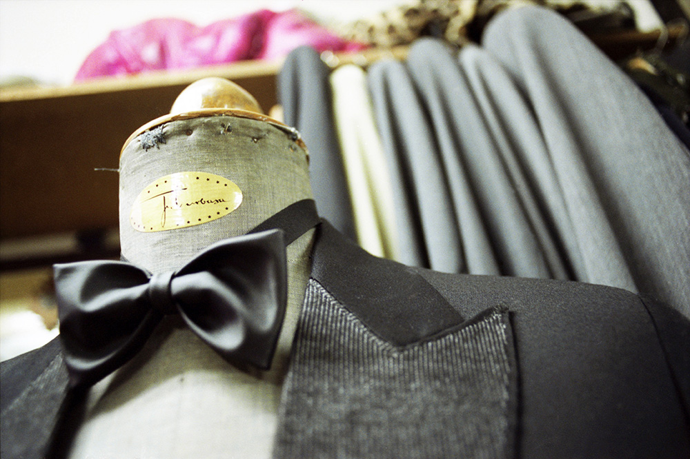 Krzysztof Penderecki's suit from Józef Turbasa's Tailoring Studio , photo: Łukasz Trzciński / Forum