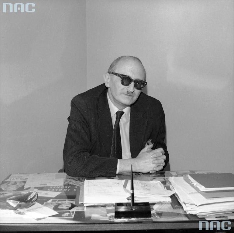 Władysław Jakubowski, director of Pagart, photo: www.audiovis.nac.gov.pl (NAC)