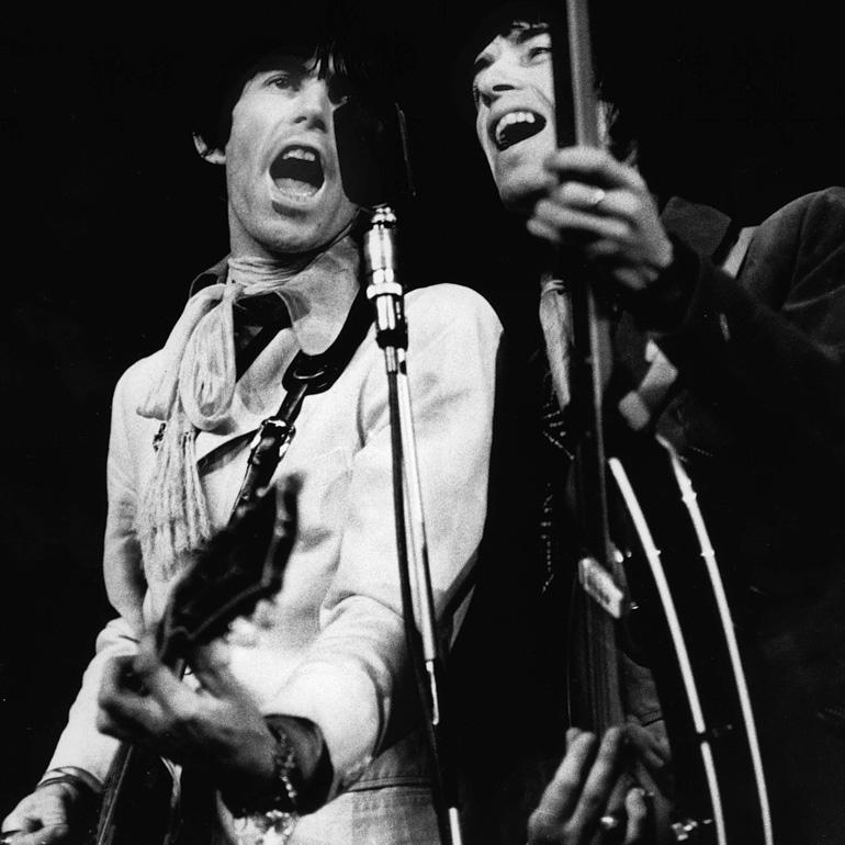 Warszawa, 13.04.1967, concert by The Rolling Stones, Congress Hall, Warsaw, photo: Marek A. Karewicz/Forum
