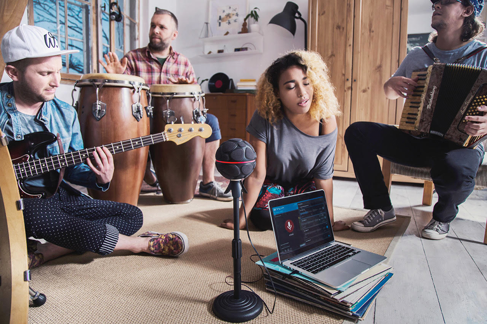 The band Mademoiselle Carmel in rehearsal, photo: press materials