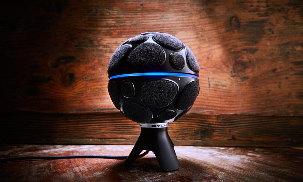 The ZYLIA microphone, photo: press materials