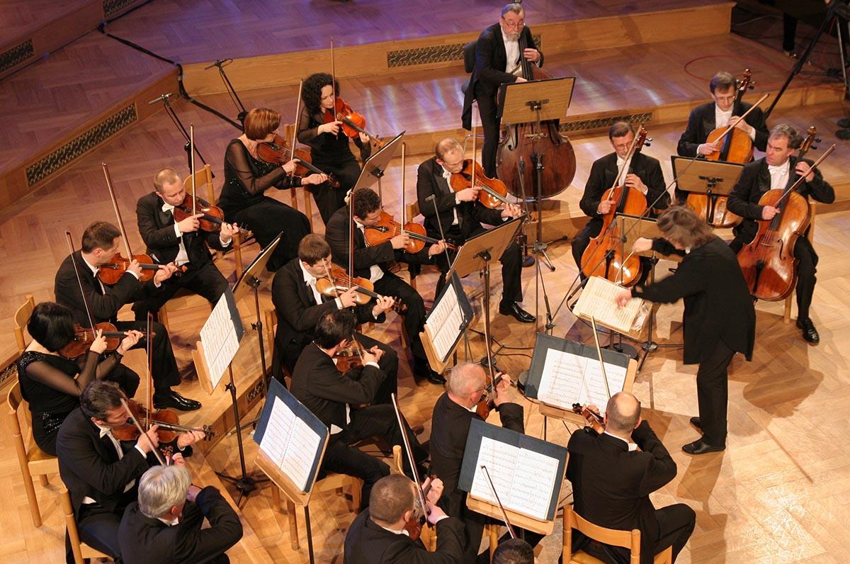 """Orkiestra Kameralna Polskiego Radia """"Amadeus"""", fot. Katarzyna Babka"""